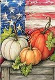 Amor Fall Pumpkin Decorative Garden Flag Autumn Thanksgiving Day Outdoor Flag 12