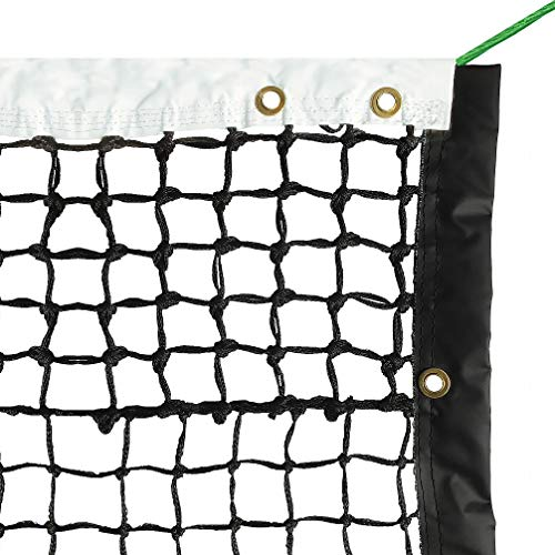 Aoneky 42' Outdoor Replacement Professional Tennis Court Net - 4 mm Double Braided