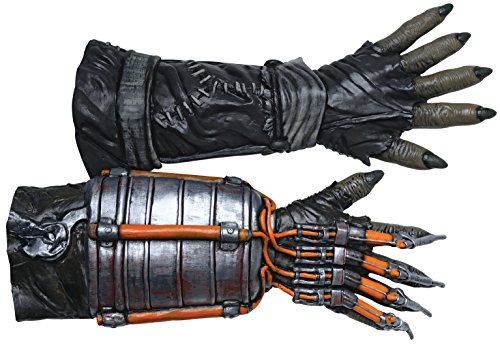 Rubie's Men's Arkham Knight Deluxe Scarecrow Gloves, Multi, One -