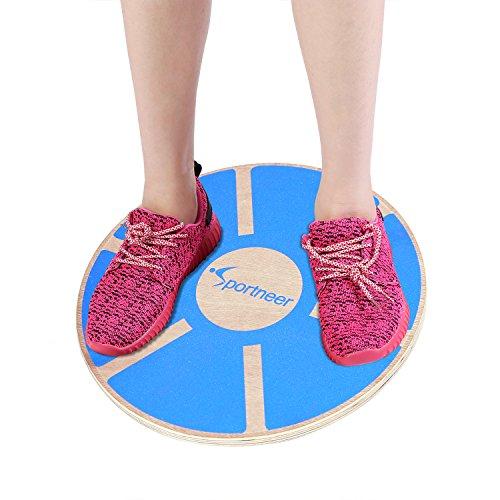 Baps Board - Sportneer Wooden Balance Board, 15.7