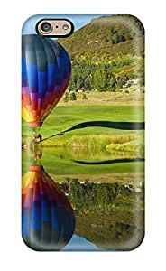 New Hot Air Balloons Tpu Case Cover, Anti-scratch JohnAHerrera Phone Case For Iphone 6