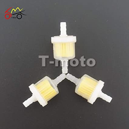 amazon com fincos 3pcs universal motorcycle small engine fram Inline Fuel Filter