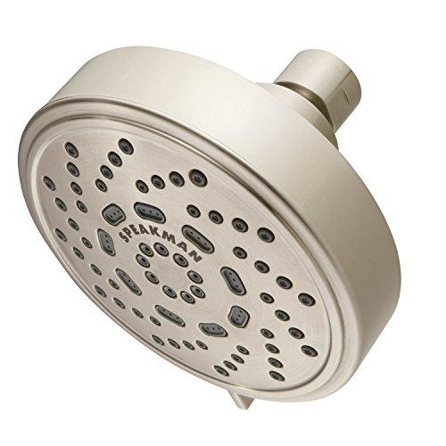 Speakman S-4200-BN-E15 Echo Adjustable 1.5 GPM Shower Head, Brushed Nickel