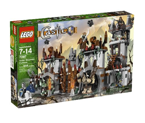 LEGO Castle Trolls' Mountain Fortress (7097) (Lego Medieval Sets)