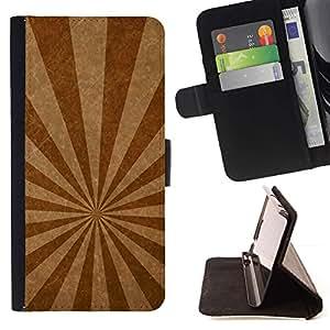 Momo Phone Case / Flip Funda de Cuero Case Cover - Líneas de emisión de textura - LG G2 D800