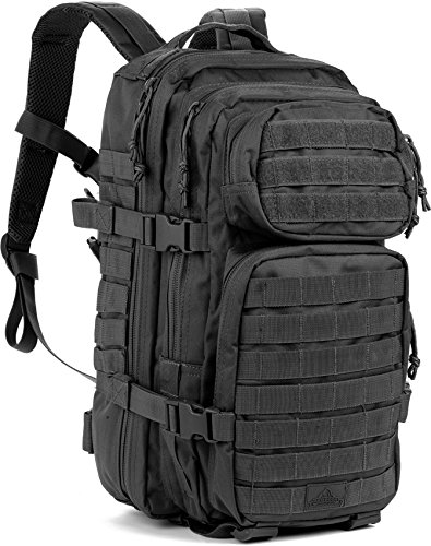 Red Rock Outdoor Gear Assault Pack (Medium, Black) (Pack Performance Rock)