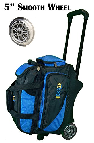 KAZE SPORTS 2 Ball Bowling Roller, Blue/Black (Bowling Shoes 2)