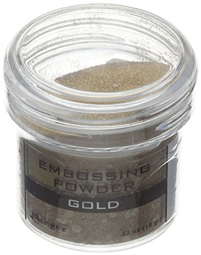 - Ranger Embossing Powder, 1-Ounce Jar, Gold