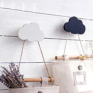 Superieur Treasure House Weiß Kinderzimmer Holz Wolken Haken Kinder Wanddekoration  Hinter Tür Im Kinderzimmer Kleiderbügel Haken