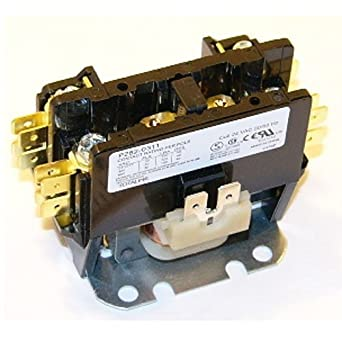 51gKyftSbvL._SX342_ payne single pole 1 pole 30 amp replacement condenser contactor hn51kc024 wiring diagram at bayanpartner.co