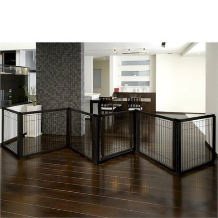 richell-3-in-1-convertible-elite-pet-gate-with-room-divider-and-pet-pen-6-panel-black-by-richell