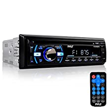Pyle PLCD43BTM Wireless Bluetooth In-Dash Stereo Radio Head Unit Receiver