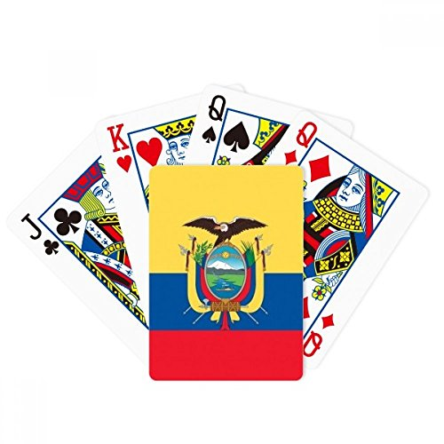 - DIYthinker Ecuador National Flag South America Country Poker Playing Cards Tabletop Game Gift