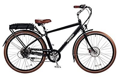 "Pedego City Commuter 28"" Classic Black with Black Balloon Package 48V 10Ah"