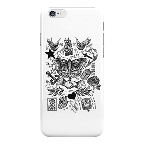 Harry Style's Tattoos Phone Case - iPhone 8+