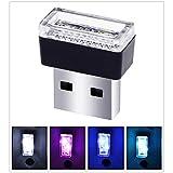 Appliances : USB LED Car Interior Atmosphere Light Feet Lamp Illumination Decoration Light(Ice Blue light)