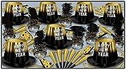 Beistle 88263BKGD50 50-Piece Assorted Entertainer Hi-Hat Party Favors, Multicolor