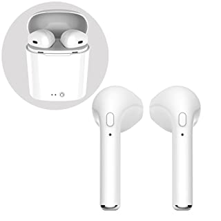 Bluetooth Headphones, Wireless In-Ear Earphone Bluetooth Sport Headsets with Charging Case, for apple iPhone and Samsung and Android Phones