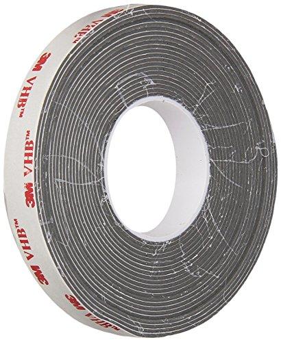 3M VHB Tape 4941, 0.5 in width x 5 yd length (1 Roll)
