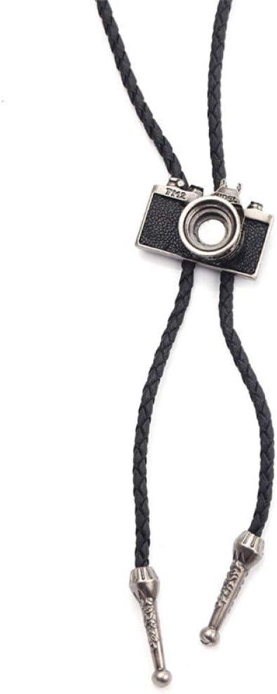 FyaWTM Collar Colgante Cinturón de Cuero Corbata Collares ...