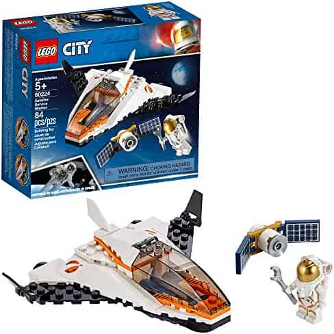 LEGO City Satellite Service Mission 60224 Building Kit, New 2019 (84 Pieces)