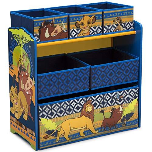 Delta Children Design and Store 6-Bin Toy Storage Organizer, Disney The Lion King from Delta Children