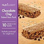 Nutrisystem® Chocolate Chip Baked Bars Pack, 10 Count Bars