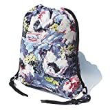Original Floral Drawstring Bag String Backpack for Travel,Gym,School,Beach,2 Sizes & 20 Colors