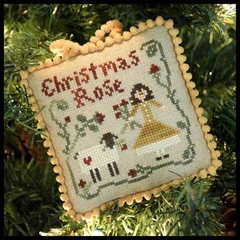 Sampler Tree-Christmas Rose Cross Stitch Chart LHNTST-04 ()