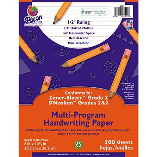 - Pacon Multi-Program Handwriting Paper, 8