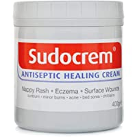 Sudocrem Antiseptic Healing Cream For Nappy Rash, Eczema, Burns and more - 125g