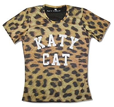 Katy Perry Cat Sublimated Womans Leopard Print T Shirt