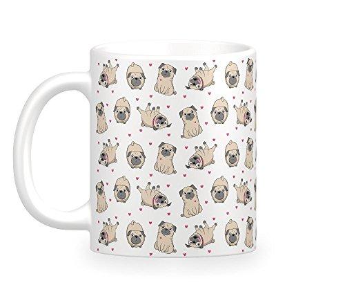 (Pugs Coffee Mug)