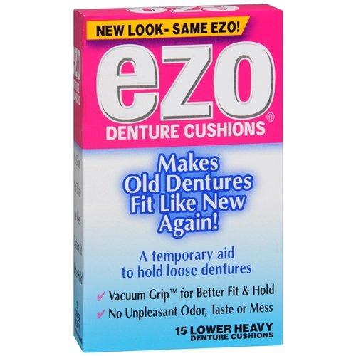 Ezo Denture Cushions, Lower Heavy, 15 -