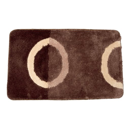 Price Tracking For Soft Chenille Touch Circle Design Bathroom Bath Mat Rug 35 X 22 Inches