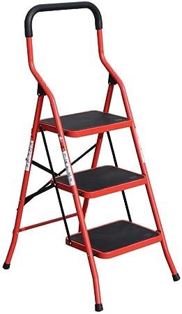 XSJZ Escalera Escalonada, Escalera Plegable Portátil de 3 Pasos para Ahorrar En Casa Escaleras Pequeñas Escaleras 2 Colores Escalera Plegable (Color : A): Amazon.es: Hogar