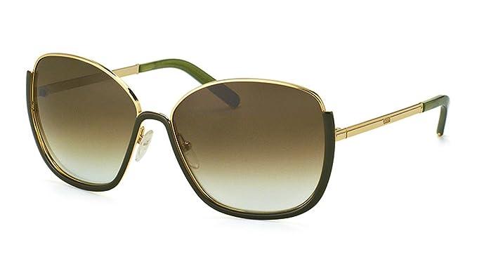 Sunglasses CHLOE CE 116 S 733 GOLD/GREEN at Amazon Mens ...