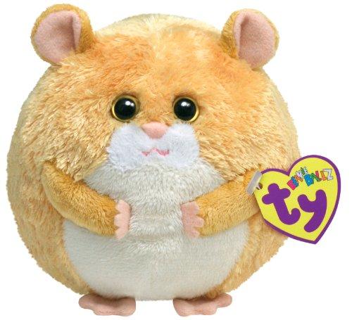 (Ty Beanie Ballz - Flash the Hamster )