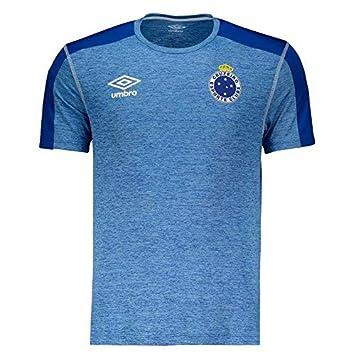 Camisa Umbro Cruzeiro Aquecimento 2019  Amazon.com.br  Esportes e ... 4db1804eb9c49