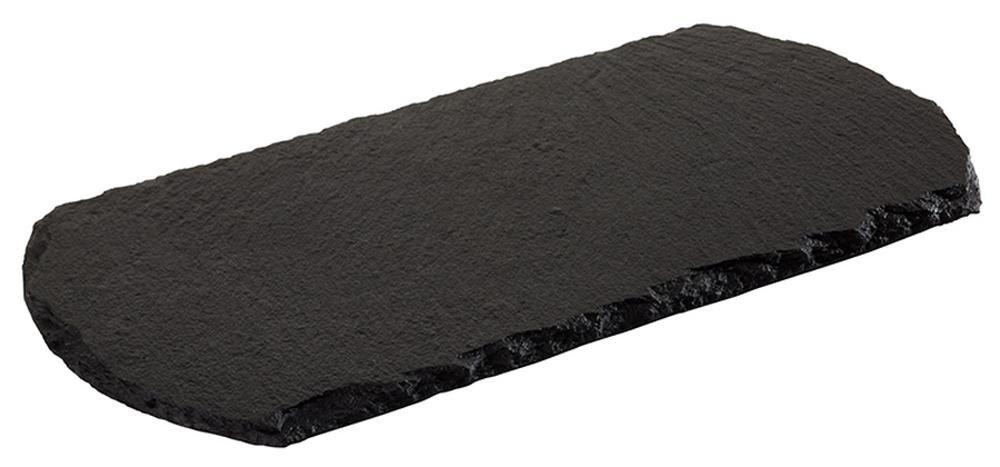APS ardesia naturale piatto–Starter, 20x 10cm, spessore materiale: 4–7mm, moebelschonend, Base Antiscivolo