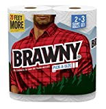 Brawny Giant Roll Paper Towel, 2 ct