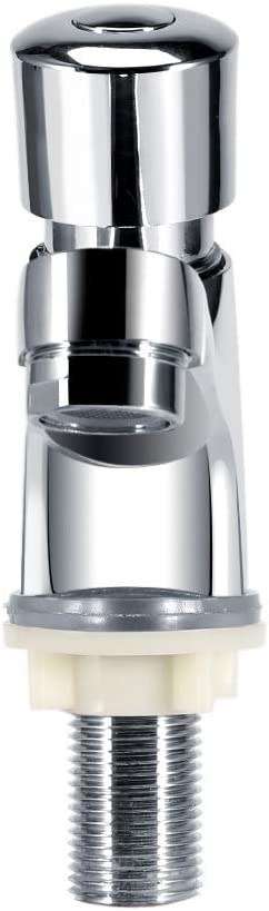 Robinet d/évier /à fermeture automatique chrom/é Robinet d/évier robinet de m/élangeur de bassin moderne bassin de temporisation for cuisine publique