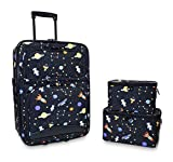 Ever Moda Galaxy 3-Piece Carry On Luggage Set