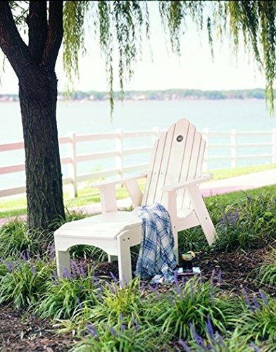 Uwharrie Chair Co 1081-13-White-Dist-Pine Original Chaise Lounge, (Original White Outdoor Chaise Lounge)