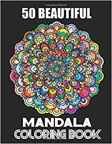 Amazon.com: 50 Beautiful Mandala Coloring Book: Complex