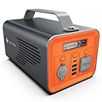 NOVOO Portable Power Station 230Wh Solar...