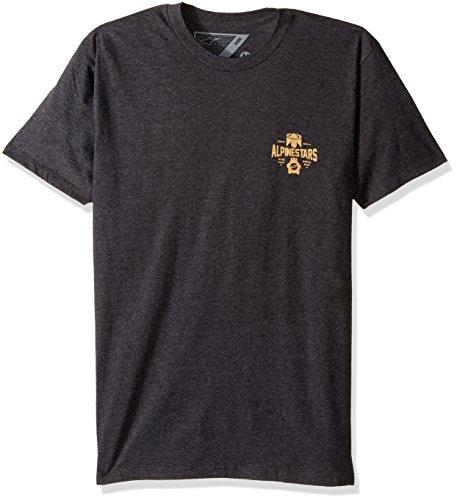 Alpinestars Charcoal T 1037 Heather 72028 shirt Homme q48HFqw