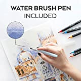 Arteza Real Brush Pens, 48 Colors for Watercolor