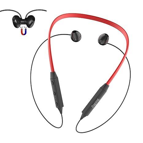Auriculares Bluetooth Magnéticos Auriculares Inálambrico Deportivos Impermeable IPX5 Estéreo Cancelación de Ruido CVC6.0 Micrófono