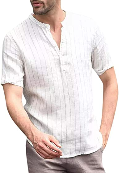Camiseta para Hombre MISSWongg Camiseta de Manga Corta a ...